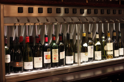Ô-chateau wine bar in paris