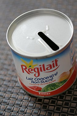 evaporated milk/lait concentré