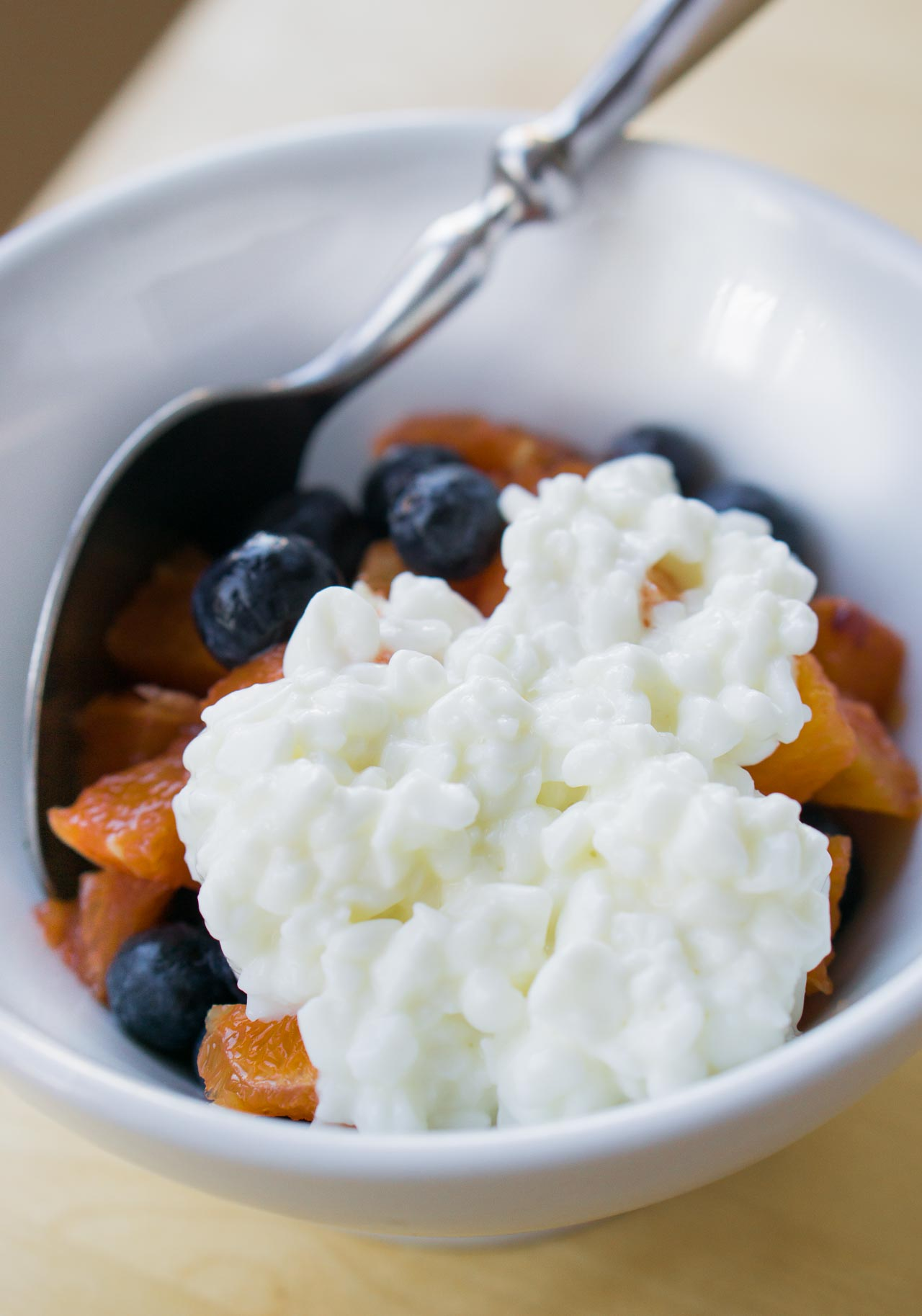 Make your own cottage cheese...at home!
