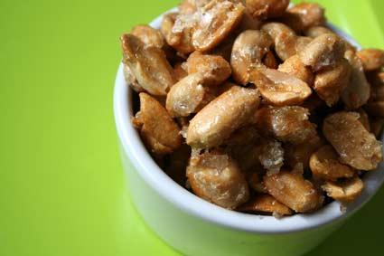 Salt-Roasted Candied Peanuts