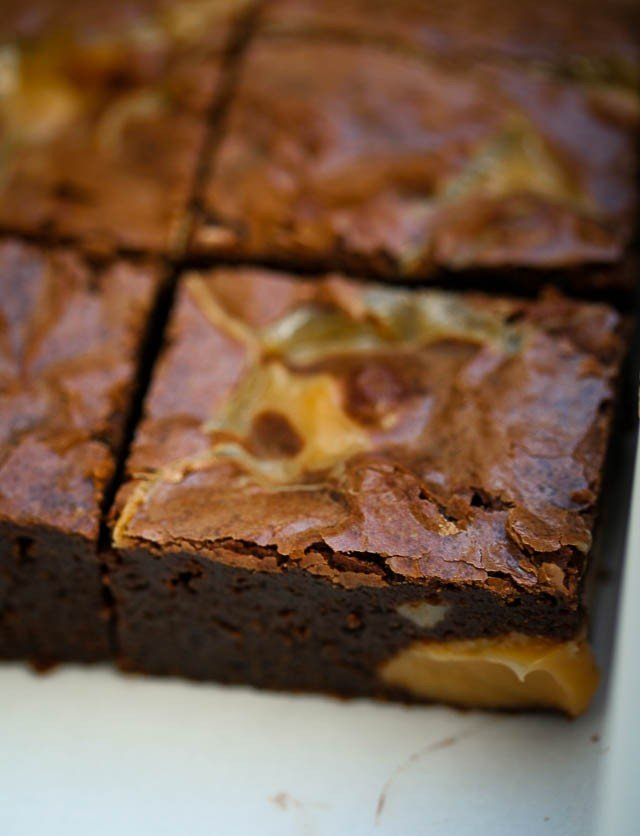 brownie dulce leche recept