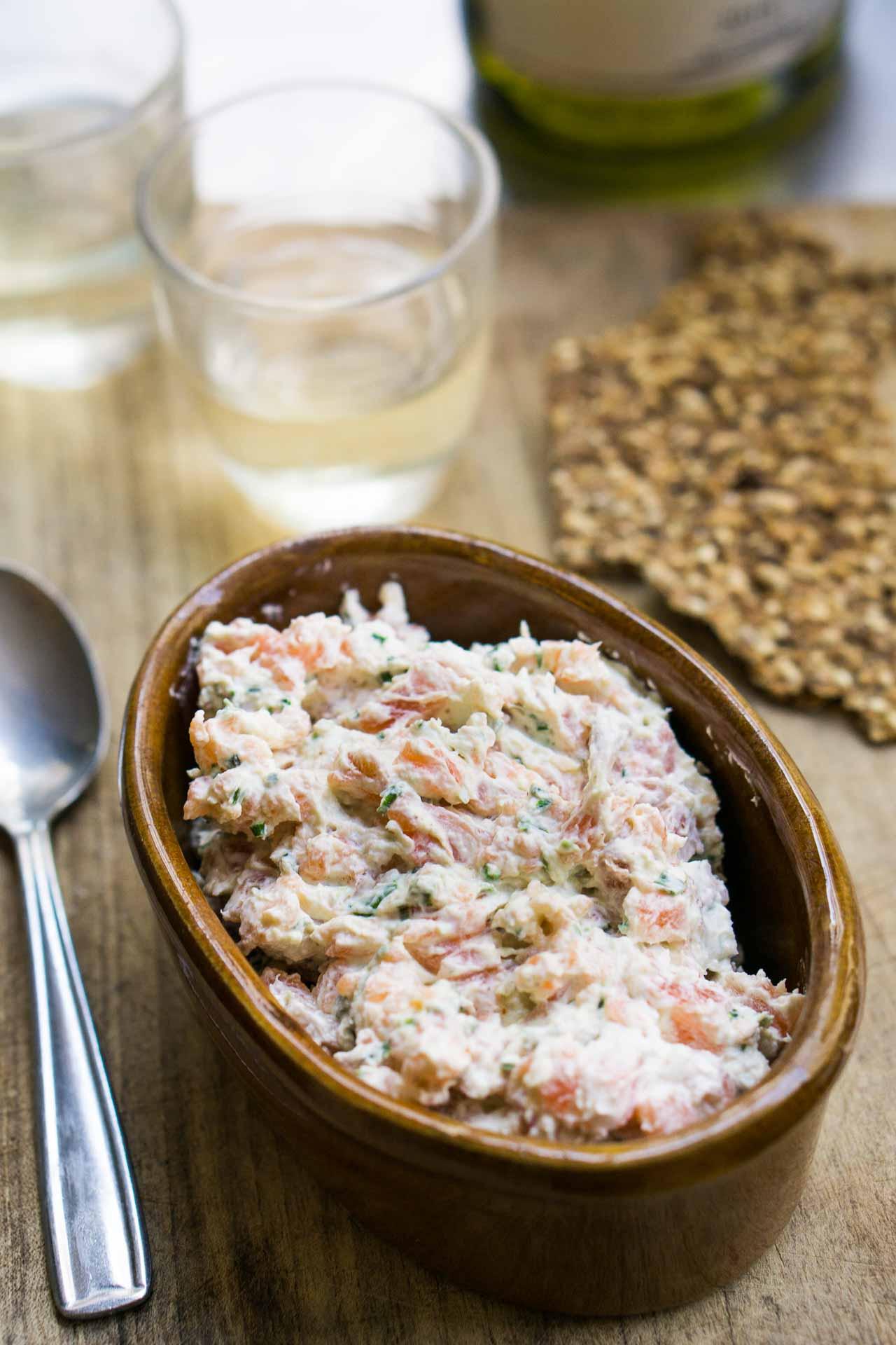 Salmon Spread Recipe: Salmon Rillettes