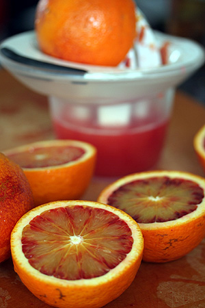 Juicing Blood Oranges