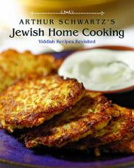 Arthur Schwartz Jewish Home Cooking cover