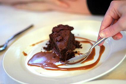 Flourless Chocolate & Raspberry Cake