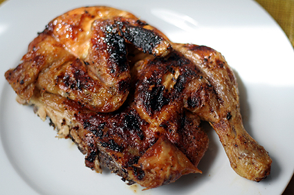 poulet crapaudine