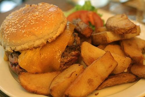 coffee parisian burger