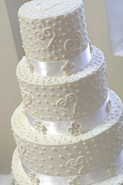 White Cake Save Wedding