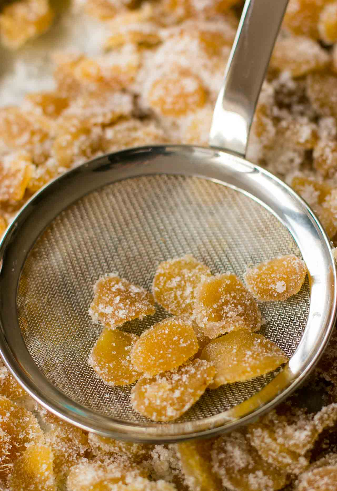 Make your own fresh candied ginger...at home!