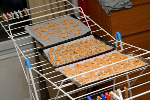 drying gnocchi