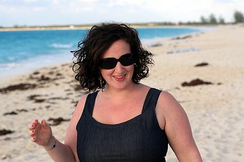 Deb And Alex Perelman food bloggers on columbus isle, the bahamas - david lebovitz