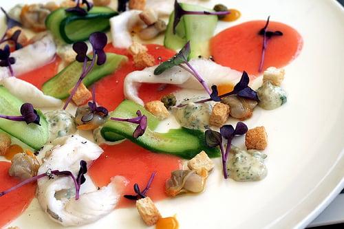john dory fish salad