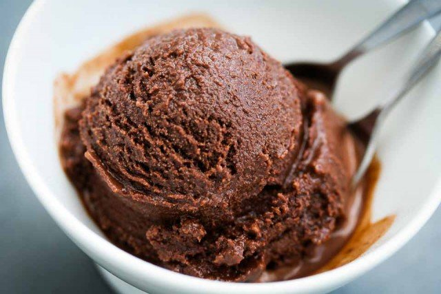 chocolate sorbet sherbet ice cream recipe