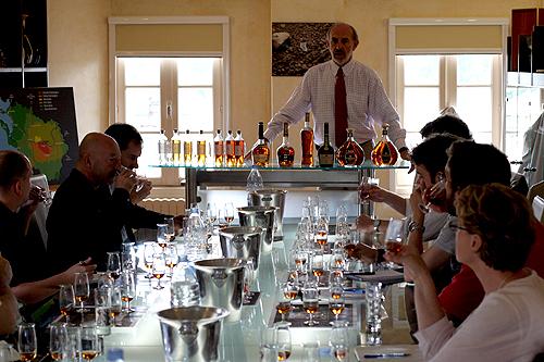 courvoisier tasting