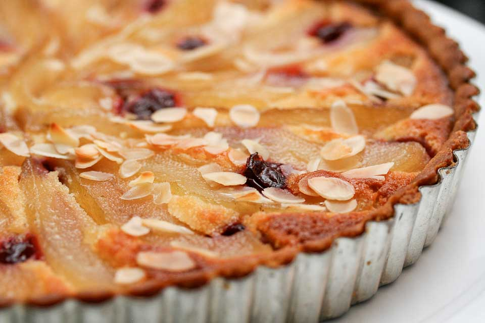 French Pear and Almond Tart Recipe Almondy Taart