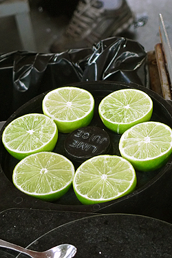 limes, ready & waiting