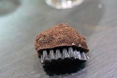 truffle-like truffle cleaning brush