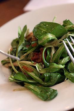 mache salad