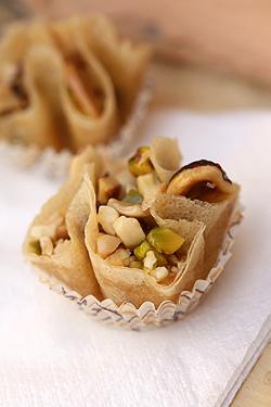 bird's nest pastry