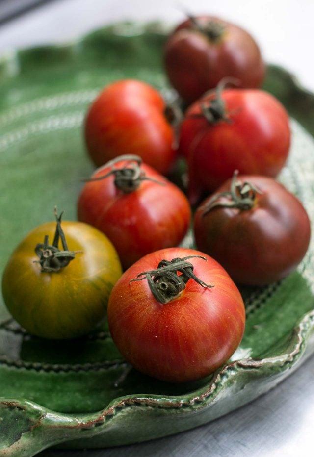 soupe au pistou - tomatoes