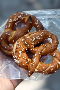 greenmarket pretzels
