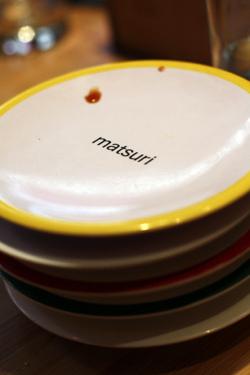 Matsuri plates