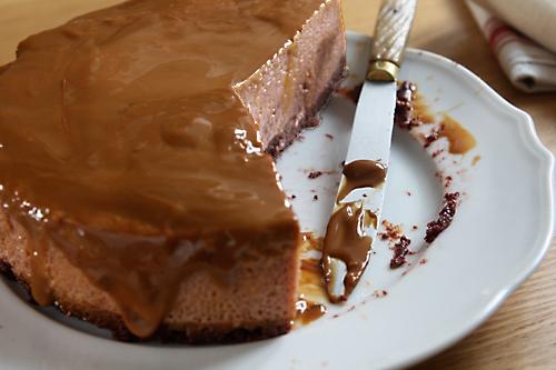 dulce de leche flan/cake