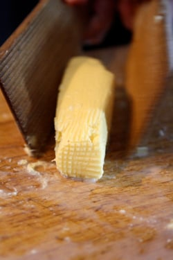 shaping butter