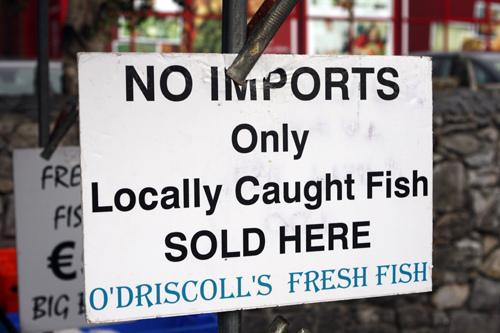 locally caught fish