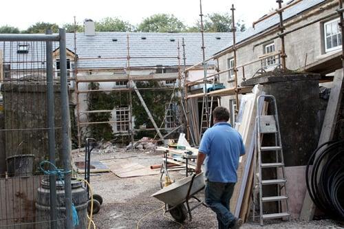 Construction at Ballymaloe