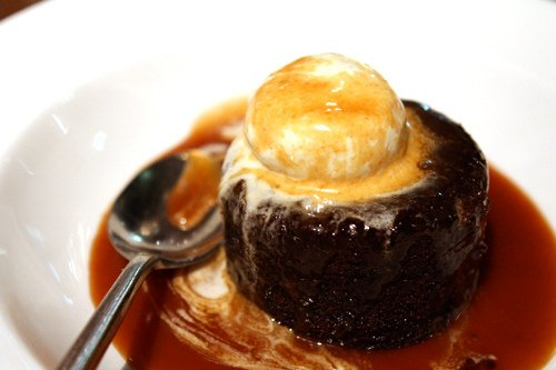 sticky toffee pudding in Ireland