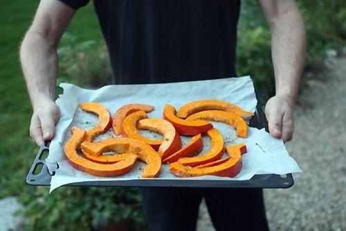 potimarron slices