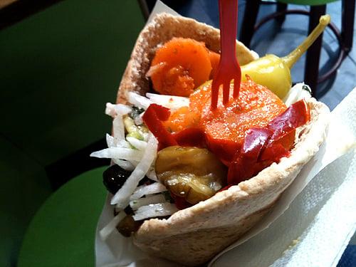 The best falafel in Paris!