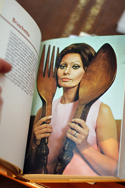 sophia loren's cookbook