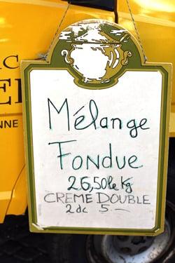 melange fondue