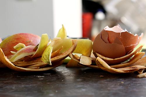 eggs and peels