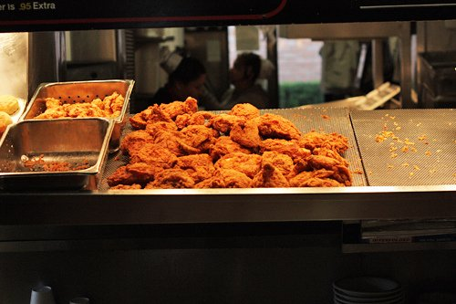 Bubba's fried chicken