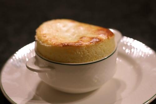 goat cheese souffle