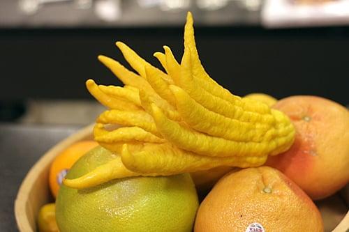 citron and grapefruits