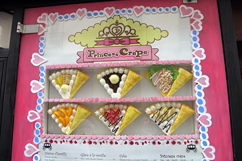 Princess crepe