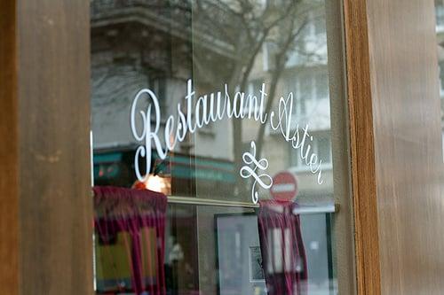 Restaurant Astier Paris