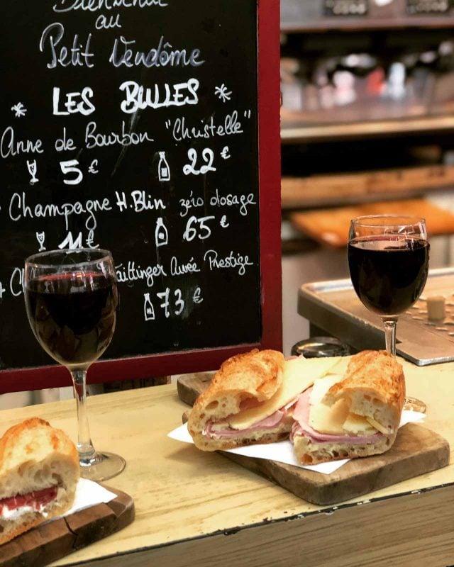 Le petit vendome paris bistro sandwich restaurant