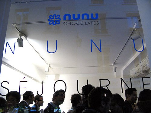 nunu chocolates in Paris