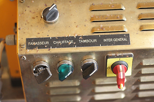 coffee grinder controls