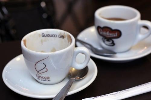 gocce di caffè