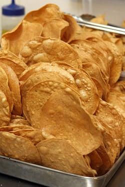 fried tortillas