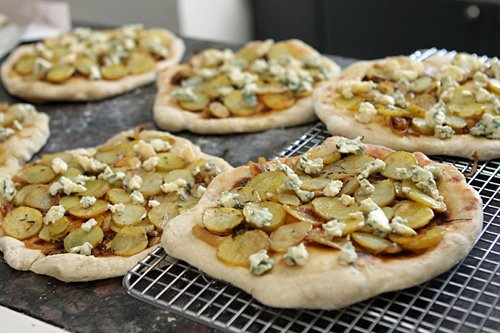 prebaked pizzas
