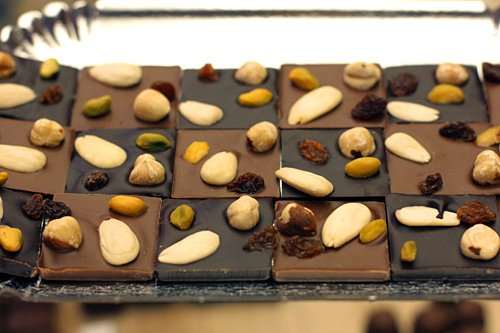 Fouquet chocolate squares