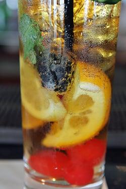 Pimm's cup fruit