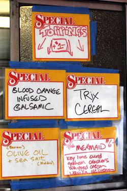 ice cream specials
